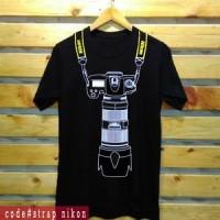 T-Shirt Nikon Camera Efek 3D