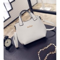 TAS GREY SELEMPANG HAND BAG JALAN TENTENG JINJING KOREA FASHION MODIS