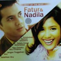 cd fatur&nadila best of the best 2cd