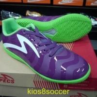 Sepatu Futsal Specs Torpedo Violet Green