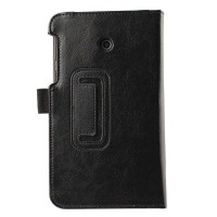 Taff Leather Flip Cover Litchi Lines for Asus Fonepad 7 (FE375)