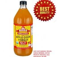 harga Organic Apple Cider Vinegar/Cuka Apel Organik dari Bragg ,946gr Tokopedia.com