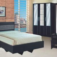 Bedroom Set Clarity Reguler Double Bed Room CR-08 Set Kamar Tidur