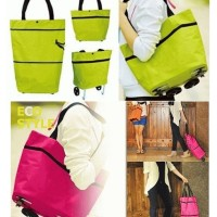 Jual Trolley Shopping travel baggu grab Bag organizer tas kantong belanja Murah