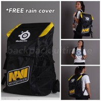 Tas Sekolah Gaming Dota 2 Dota2 CS:GO Backpack Elite Navi Bags Ransel