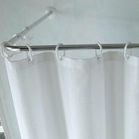 Fantasy tiang rel fitting room jendela window rail kamar mandi L siku