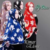 Ready Stock Jilbab Hijab Khimar Elena