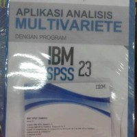 aplikasi analisis multivariate ibm spss 23