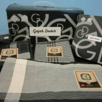 harga Sarung Gajah Duduk Black & White Tokopedia.com