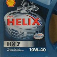 Oli Shell Helix HX7 10W 40 4Liter API SM CF Original