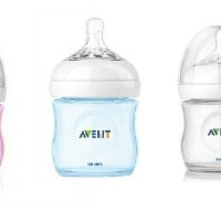 botol susu bayi phillips avent natural feeding bottle 125 ml