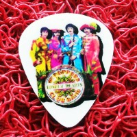 Pick Gitar Custom Murah Gambar Suka Suka The Beatles St Peppers