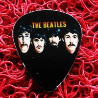 Pick Gitar Custom Gambar Suka Suka The Beatles Apple Records