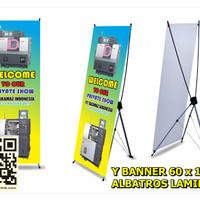 Y6ALH   Spanduk Y Banner 60 x 160 + Albatros Laminasi High Resolution