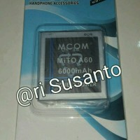 Baterai M-COM for Mito A60 Double Power 6000mAh
