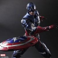 FIGURE Play Arts Kai Captain America KW