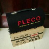 harga Speaker Bluetooth Fleco F955 Subwoofer Super Bass Super Suara Tokopedia.com
