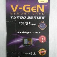 Micro SD V-gen 8GB Turbo Series MicroSD HC Vgen 8 GB Class 10 V GEN NA