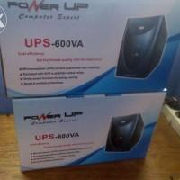 POWER PRO UPS 600VA BARU SUPER HIGH QUALITY + CPU CONTROL
