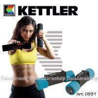 Kettler Dumbell Aerobic Blue (2kg/pair) / Dumbel aerobik 2kg kettler