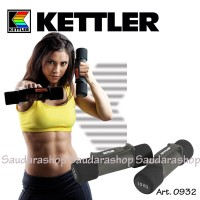 Kettler Dumbell Aerobic Grey (3kg/pair) / Dumbel aerobik 3kg kettler