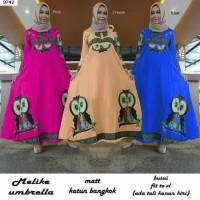 Baju Muslimah Online Maxi Dress Melika Umbrella