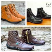 sepatu kickers tracking touring / boot kerja kantor / sepatu pria
