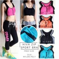 Hiva Zip Sport Bra