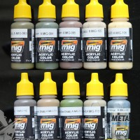 MIG Acrylic Paint (17ml) : Real Colors Selection 8