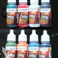 MIG Acrylic Paint (17ml) : Crystal Colors Selection