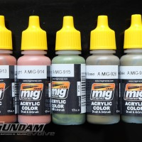 MIG Acrylic Paint (17ml) : Modulation Selection