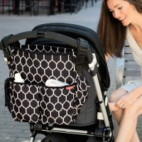 Skip Hop Duo Signature Diaper Bag Onyx Tile