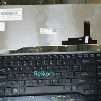 Keyboard laptop / notebook Fujitsu LH522, LH532 hitam