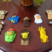 Finger Puppet Animal / Finger Doll Animal / Boneka Jari Hewan set #1