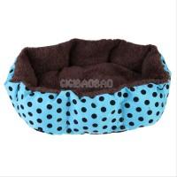 Jual Tempat Tidur anjing model polkadot ukuran M Murah