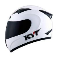 harga Helm KYT R10 Full White Solid FullFace R 10 Putih Tokopedia.com