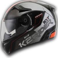 Helm KYT K2 Rider Full Face K2Rider Visor Black White