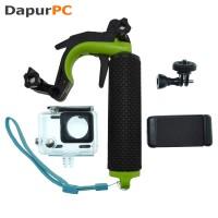 GoPro 4 Shutter Controller with Floating Monopod Waterproof Case
