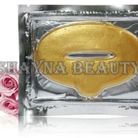 Jual Gold Collagen Lip Mask / Masker Bibir - Melembabkan & Mengencangkan Murah