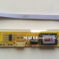 INVERTER LCD 2 LAMPU Socket Lebar