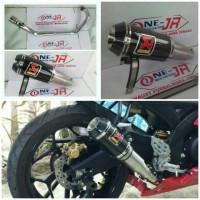 knalpot racing AKRAPOVIC GP M1 FOR YMH R15