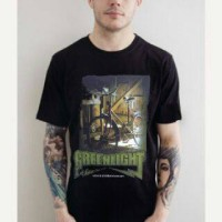 KAOS COWOK GREENLIGHT 5 MODEL / 6 GRATIS 1