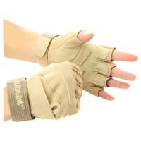 BlackHawk HellStorm S.O.L.A.G Gloves Half Finger Tan L