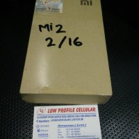 xiaomi mi 2 ram 2gb internal 16gb grs 1 tahun