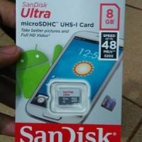harga memory micro sd sandisk ultra class 10 original ( eksternal memori ) Tokopedia.com