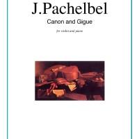 """Buku Solo Biola dan Piano """"Canon and Gigue in D"""""""