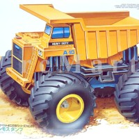 harga Tamiya Mini 4WD Big Foot Mammoth Dump Truck Tokopedia.com
