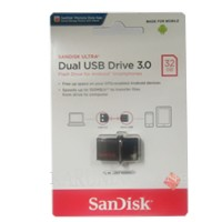 Jual SANDISK FLASHDISK USB 3 OTG 32GB /UP TO 130 MB/S Murah