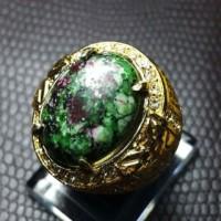 harga Cincin Titanium Batu Ruby Tanzania HQ Tokopedia.com