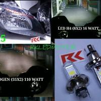 LAMPU UTAMA LED CBR150, R15, ZAFFERANO | LED MOTOR H4 / HS1